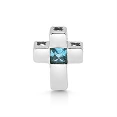 Topaz Cross Pendant
