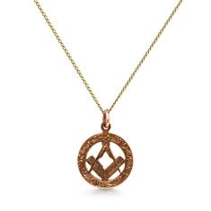 Masonic Gold Pendant