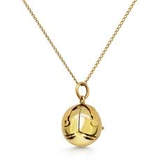 Masonic Orb Pendant & Chain