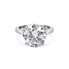 5.11ct Brilliant Cut Diamond Claw Set Engagement Ring