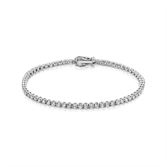 Brilliant Cut Diamond Line Bracelet