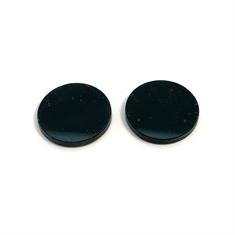 Pair Of Round Loose Bloodstones 13.4 x 13.4mm