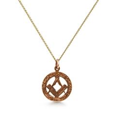Masonic Gold Pendant