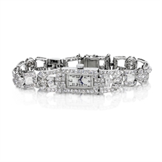 Ladies Diamond Set Cocktail Watch