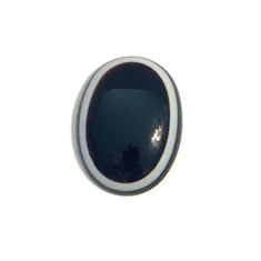 Banded Onyx Oval Cabochon 40 x 30mm